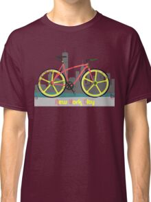 Love New York, Love to Cycle Classic T-Shirt
