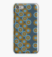 Floral pattern - retro style iPhone Case/Skin