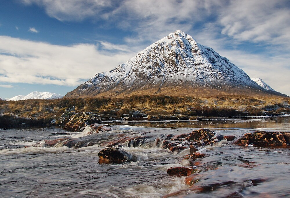 Scotland - Glencoe - Buchaille Etive Mhor by Pat Speirs