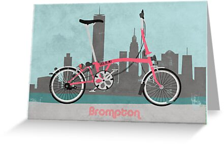 Brompton City Bike by Andy Scullion