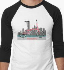 Brompton City Bike Men's Baseball ¾ T-Shirt