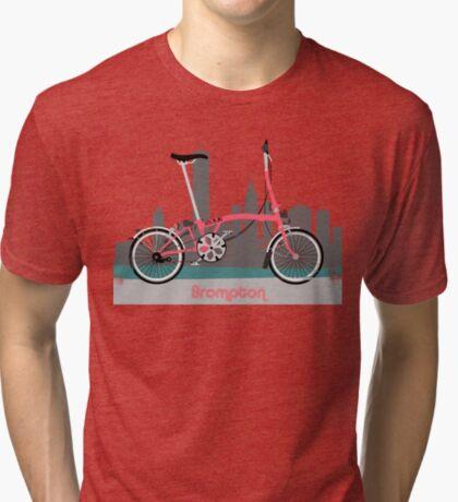 Brompton City Bike Tri-blend T-Shirt