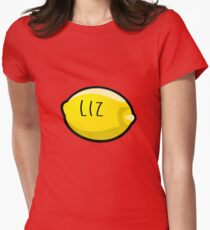 Liz Lemon the Lemon Womens Fitted T-Shirt