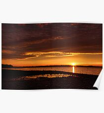 Super Eufaula Sunset Poster