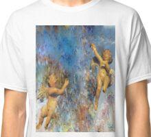 watercolor Cherubs Classic T-Shirt