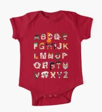 P&F Alphabet One Piece - Short Sleeve
