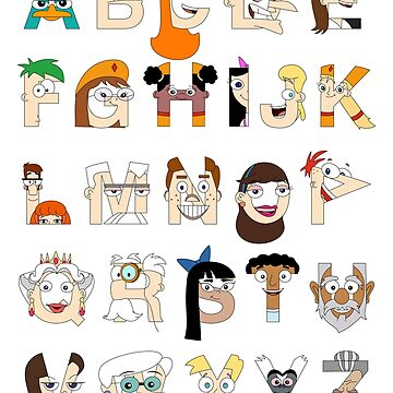 P&F Alphabet by mbaboon