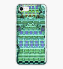 Fantasy Skyscraper, abstract fractal case iPhone Case/Skin