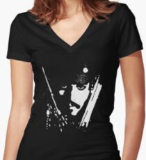 Sparrow Women's Fitted V-Neck T-Shirt