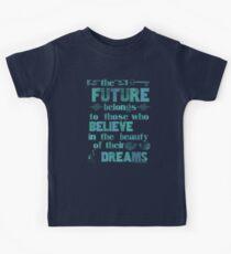 Future - light blue Kids Tee