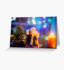 A Christmas Scene Greeting Card
