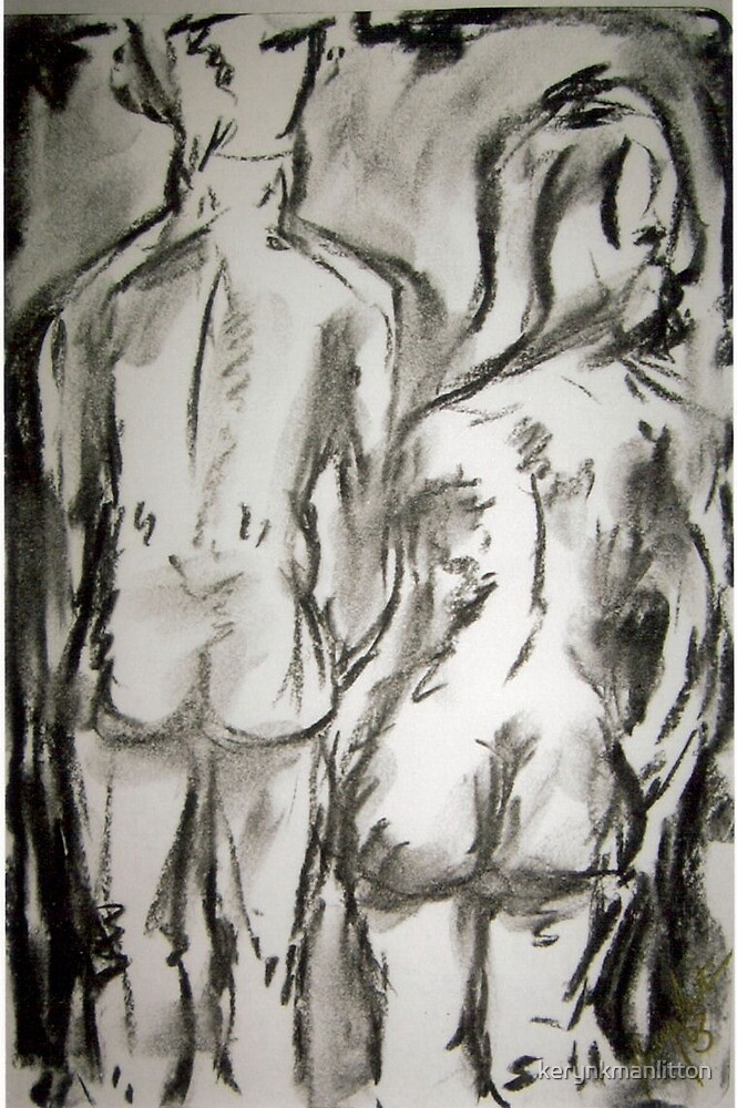 Man and Woman Rear by kerynkmanlitton