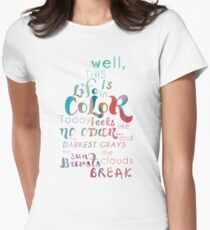 Life in Color Womens Fitted T-Shirt