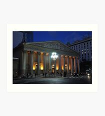Catedral Metropolitana,Neoclásica de Bnos- Aires. Argentina Art Print
