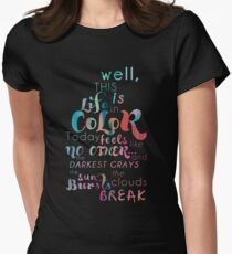 Life in Color Women's Fitted T-Shirt