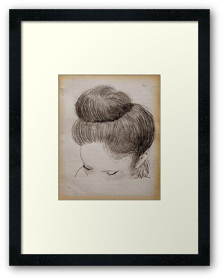 hair study by Loui  Jover