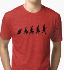 99 Steps of Progress - Costume parties Tri-blend T-Shirt
