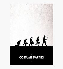 99 Steps of Progress - Costume parties Photographic Print