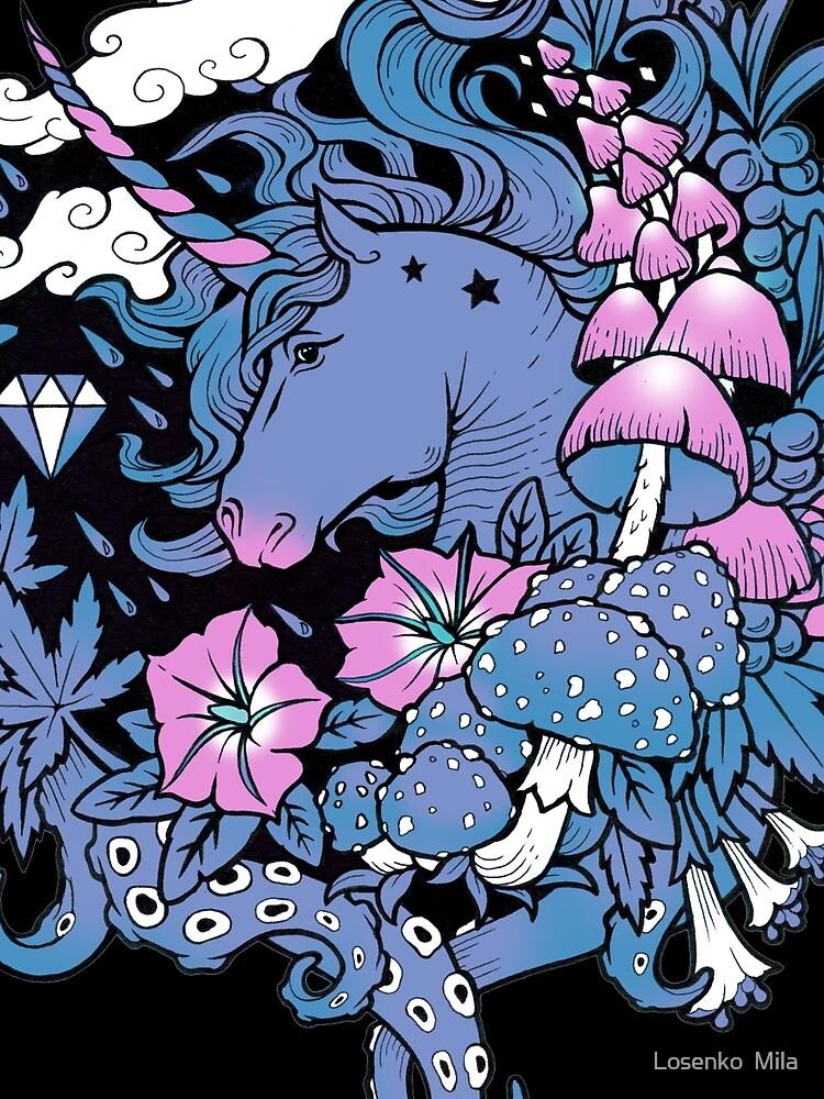 - Unicornio mágico - de Losenko