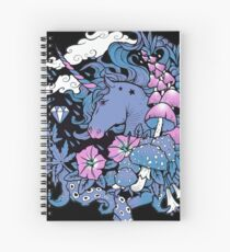 - Magical Unicorn - Spiral Notebook