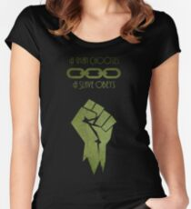 BioShock - A man Chooses Women's Fitted Scoop T-Shirt