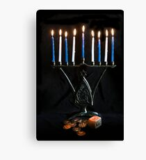 Hanukkah, The Festival of Lights Canvas Print