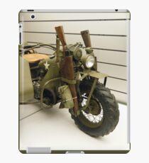 Harley Davidson army motorcycle iPad Case/Skin