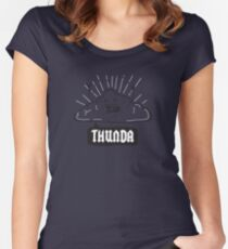 Thunda 4 Dunda! Women's Fitted Scoop T-Shirt