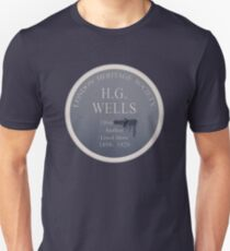 HG Wells Lived Here Unisex T-Shirt