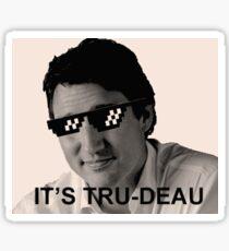 It's Tru-deau Sticker
