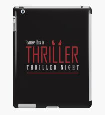 THRILLER iPad Case/Skin