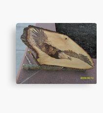 Bald Eagle in Torpedo Mode Canvas Print