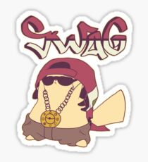 Swagachu Pikaswag Thugachu Sticker