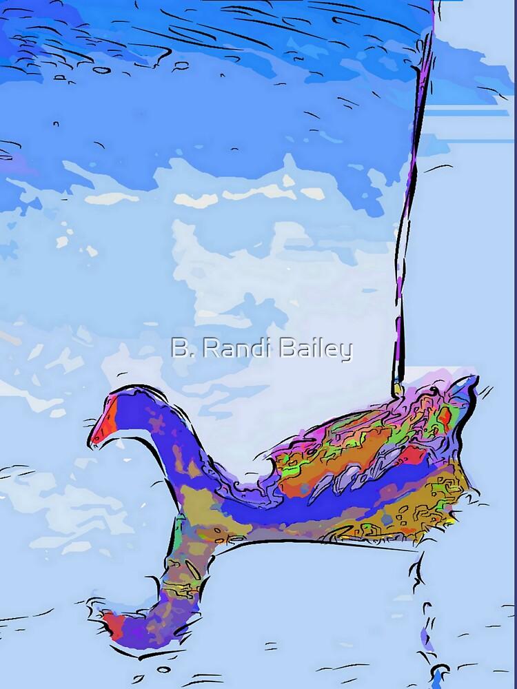 Floating moorhen by rbb2676