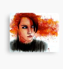 The One Who Played With Fire Canvas Print
