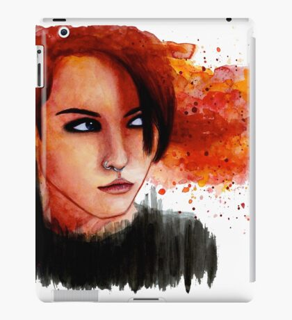 The One Who Played With Fire iPad Case/Skin