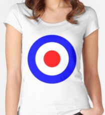Tank Girl (Booga's Bullseye) Women's Fitted Scoop T-Shirt