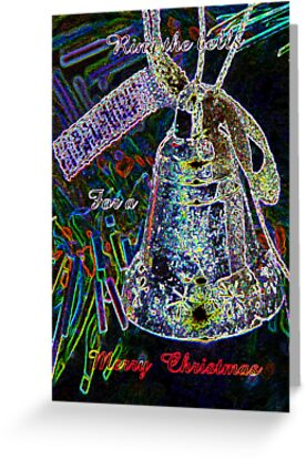 Ring The Joy Bells..Christmas card by MaeBelle