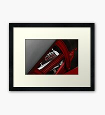 400 high performance, muscle engine Framed Print
