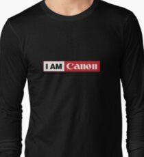 I AM CANON - Camera Shirt Long Sleeve T-Shirt