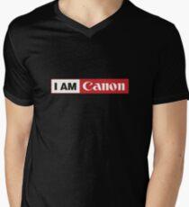 I AM CANON - Camera Shirt Men's V-Neck T-Shirt