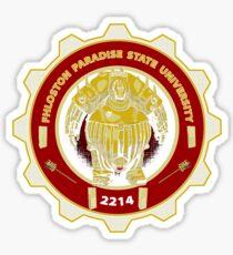 Fhloston Paradise State University Sticker