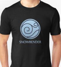 Snowbender (with text) Unisex T-Shirt