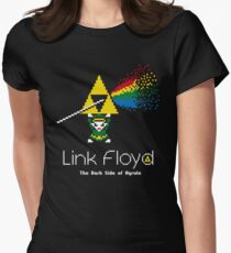 Link Floyd: the Dark Side of Hyrule Women's Fitted T-Shirt