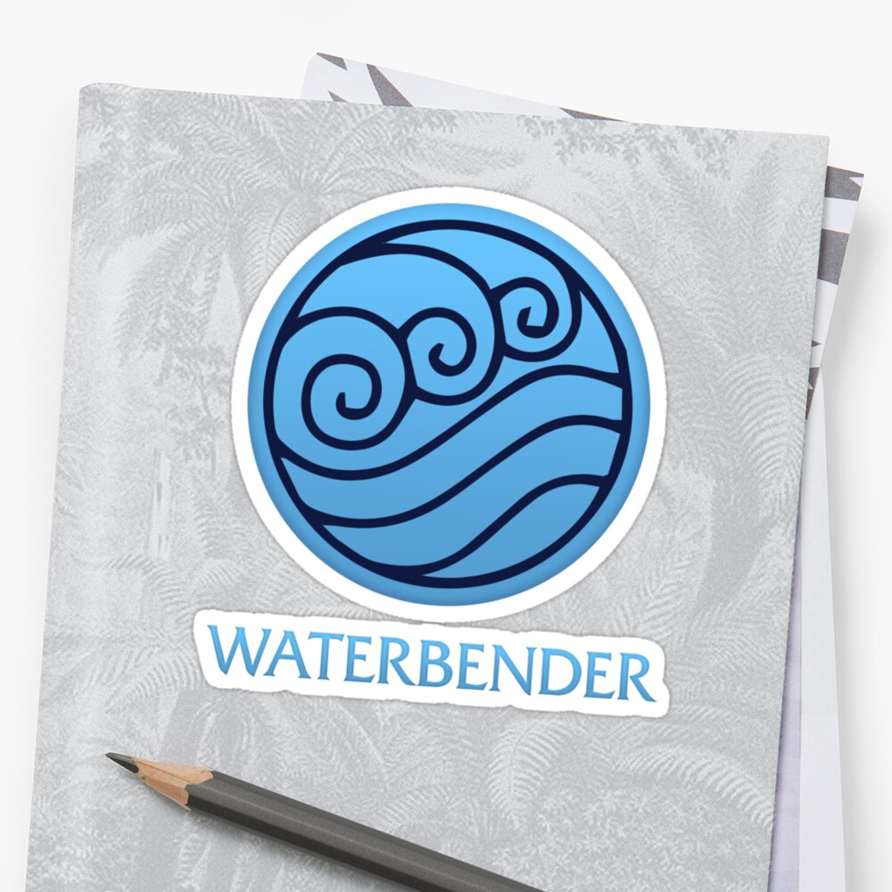 Waterbender (with text) by jdotrdot712