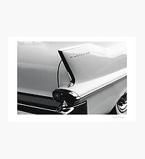 Cadillac Tail Photographic Print