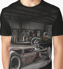 1930 Ford Model A Rat Rod Graphic T-Shirt