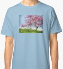 Pink Flowering Tree Classic T-Shirt