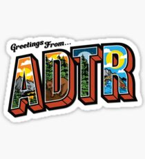Greetings From ADTR Sticker