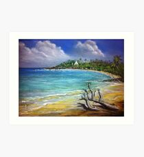Unnawattuna Sri Lanka Art Print